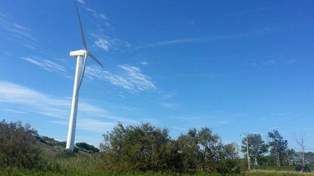 Il n'y a pas d'éoliennes en Aquitaine. Le projet le plus abouti est celui de Naujac sur Mer, d'ici 2017.