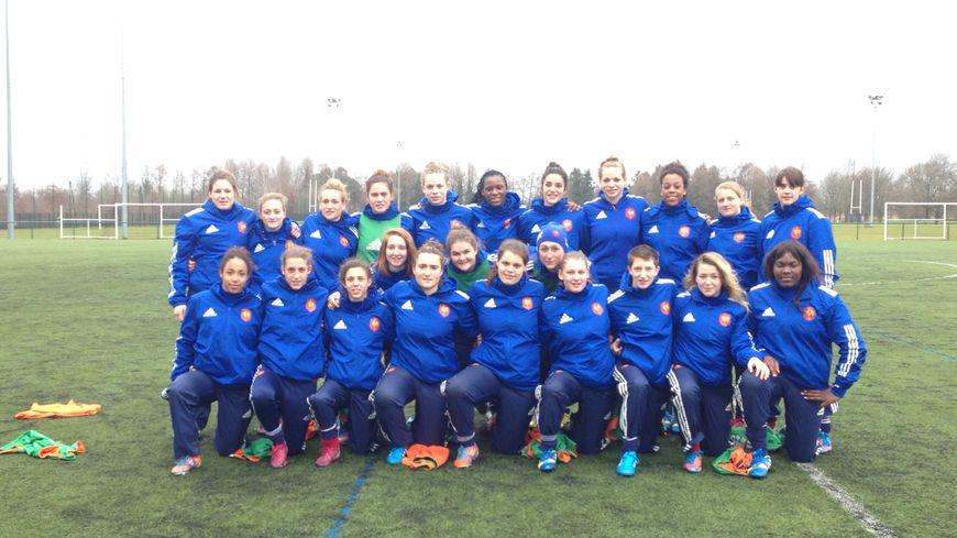 L'équipe de France féminine des moins de 20 ans en stage à Bordeaux
