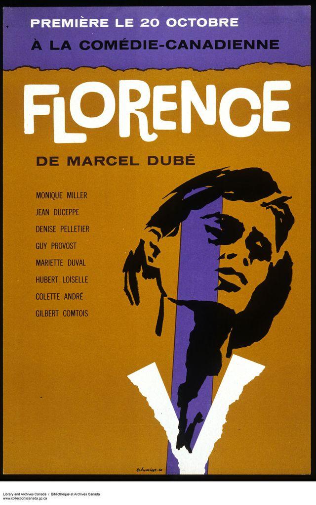 Florence, de Marcel Dubé