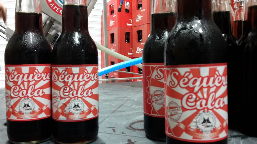Les 1500 premières bouteilles du Cola landais ont été embouteillées.