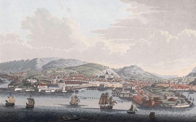 Bergen, ville natale d'Edvard Grieg