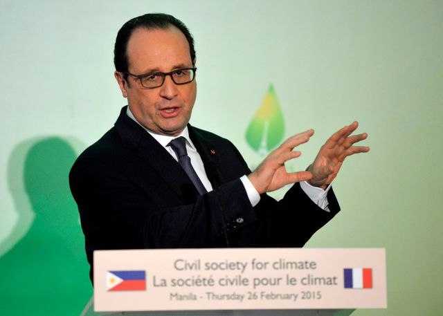 François Hollande appelle à un accord ambitieux sur le climat