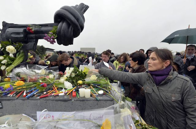 Rassemblement pour Charlie au Mémorial de Caen