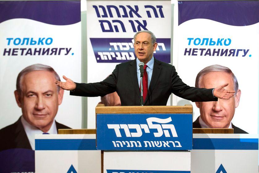 Benyamin Netanyahou, février 2015