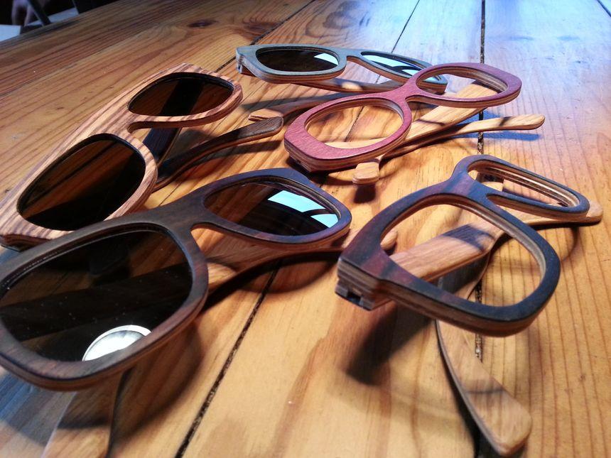 a4e5db797e2604 La société ardéchoise Woodlun s utilise 12 essences différentes pour  fabriquer des lunettes en bois - Radio