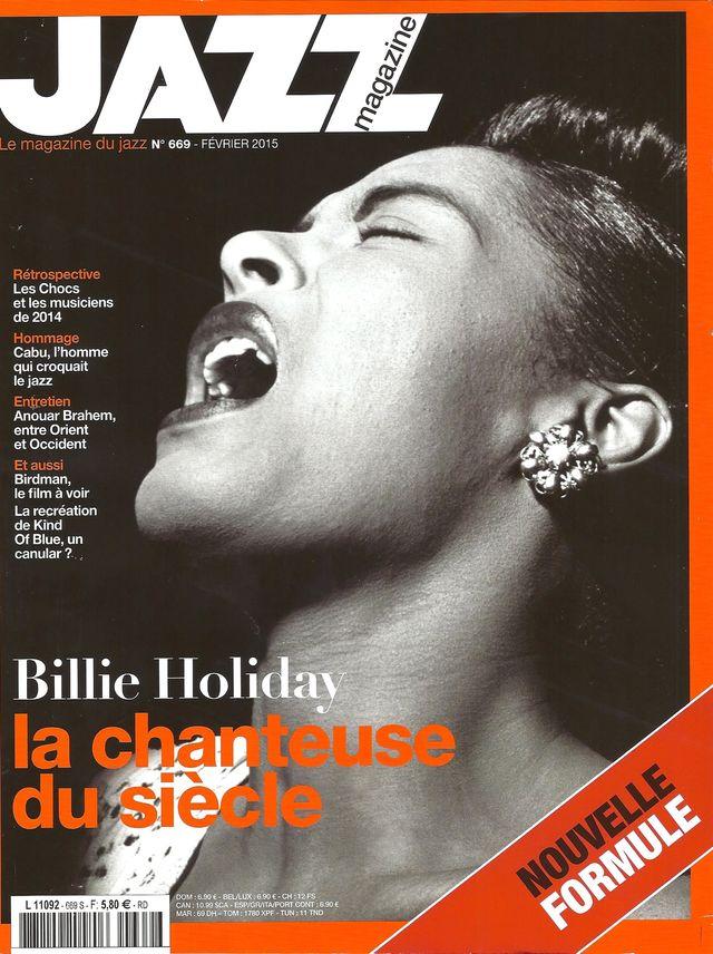 Jazz magazine février 2015