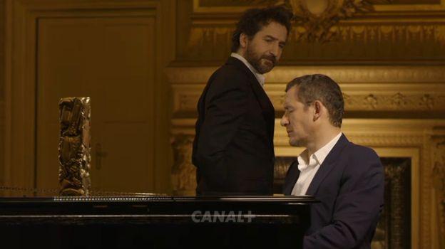 Capture écran de la vidéo promotionnelle de la cérémonie des César