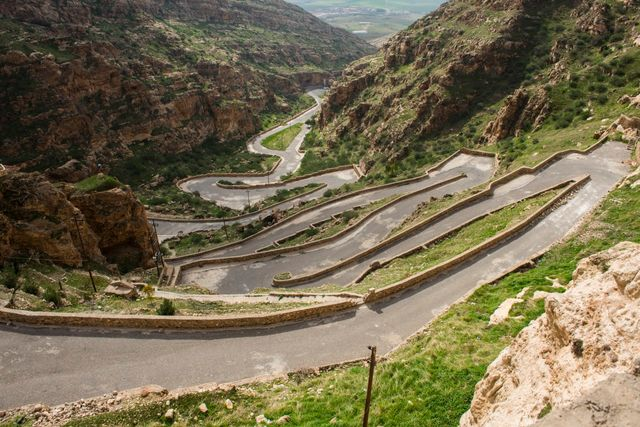Route au Kurdistan