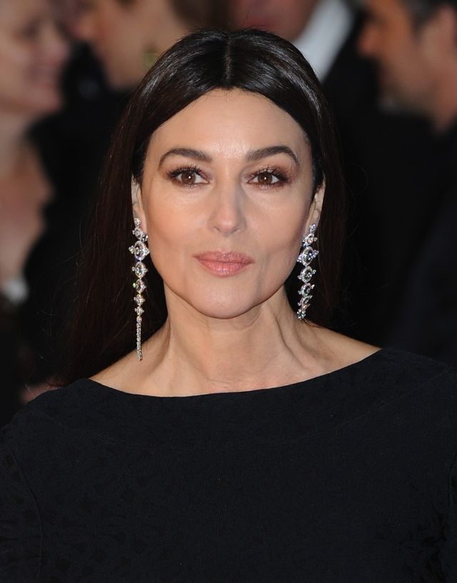 Monica Belluci arrive au EE British Academy Film Awards 2015