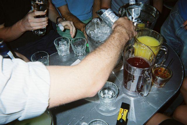 Alcool festiv et excessif