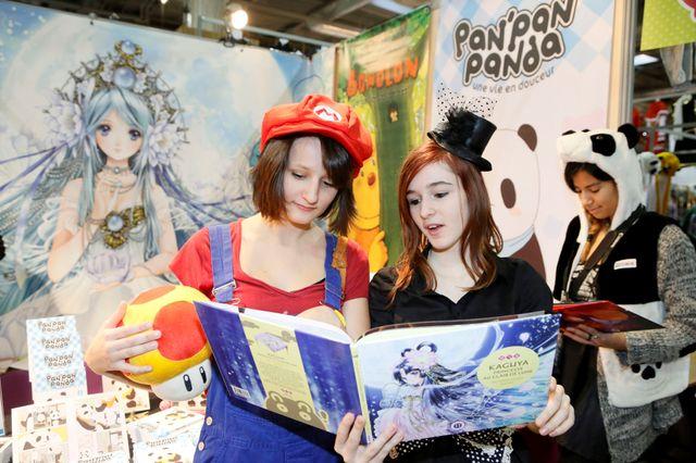 Lors de l'édition 2014 de Paris Manga