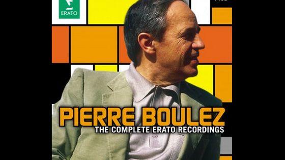 Coffret CD - Pierre Boulez : les enregistrements Erato - de Stravinsky à Boulez.