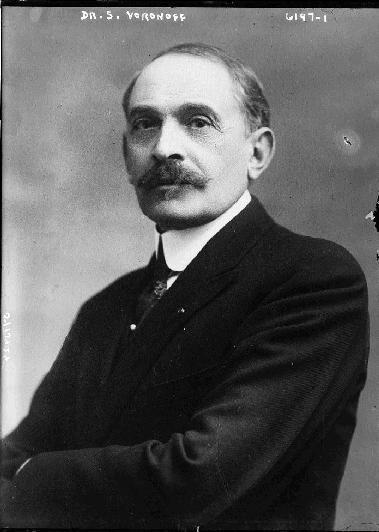 Le docteur Serge Voronoff en 1920