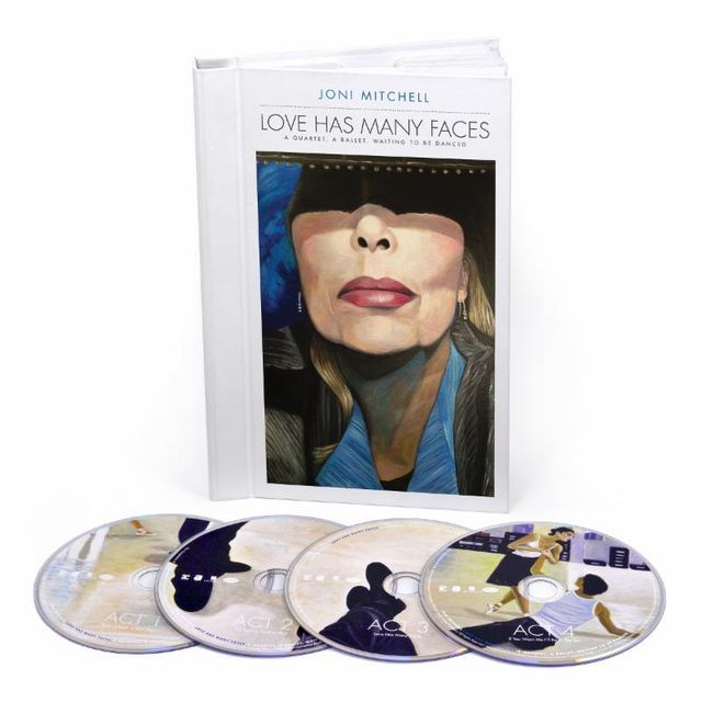 Love has many faces - Coffret Joni Mitchell