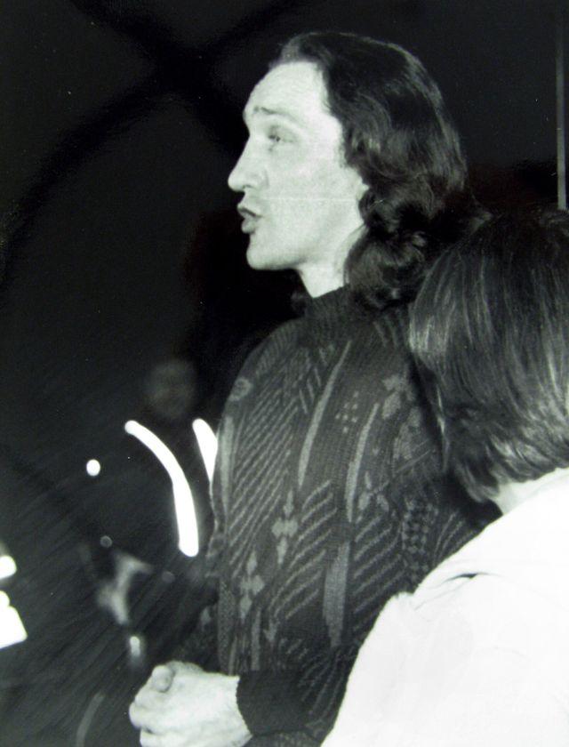Procès Céline Jourdan - Décembre 1992. Grenoble . Ancien palais de justice. Richard ROMAN, accusé aussi, après son acquittement