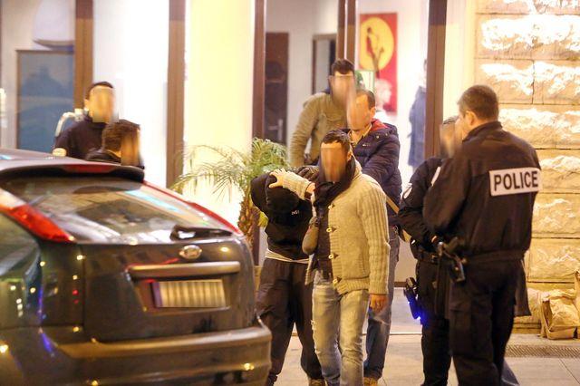 Nice : perquisition a l'hotel où logeait l'auteur presume de l'agression de trois militaires dans le centre ville de Nice