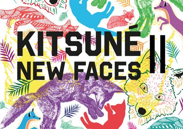 kitsuné compilation new faces