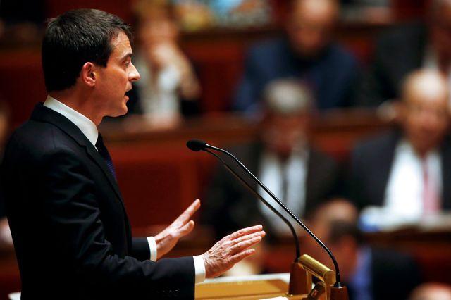 Manuel valls a engagé la responsabilité du Gouvernement