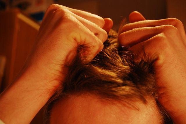 Hair pulling stress