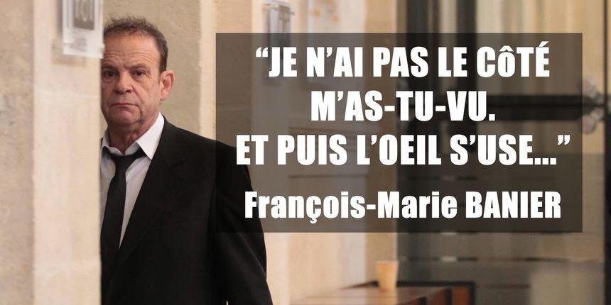 """François-Marie Banier : """"je n'ai pas le côté m'as-tu vu. Et puis l'œil s'use…"""""""