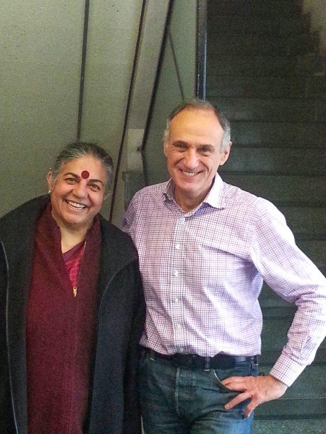 Vandana Shiva & Denis