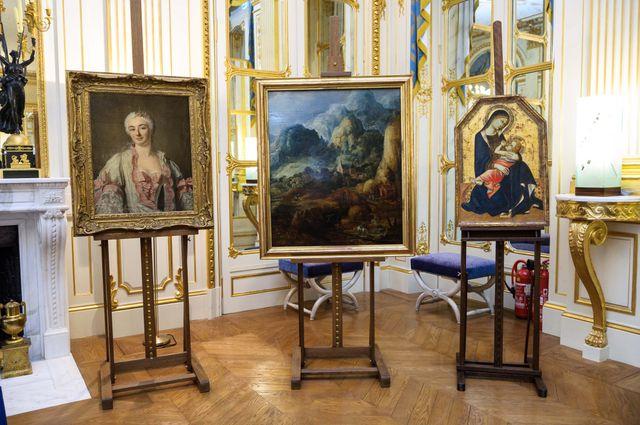 Le ministère de la culture a remis en mars dernier  trois tableaux aux ayants droit de leurs propriétaires spolies par les nazis