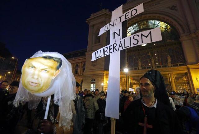 Hongrie, manifestation contre la visite de Vladimir Poutine