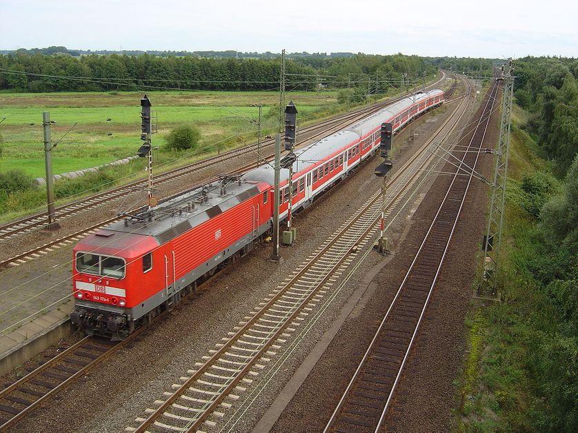 Un train régional de la compagnie allemande Deutsche Bahn
