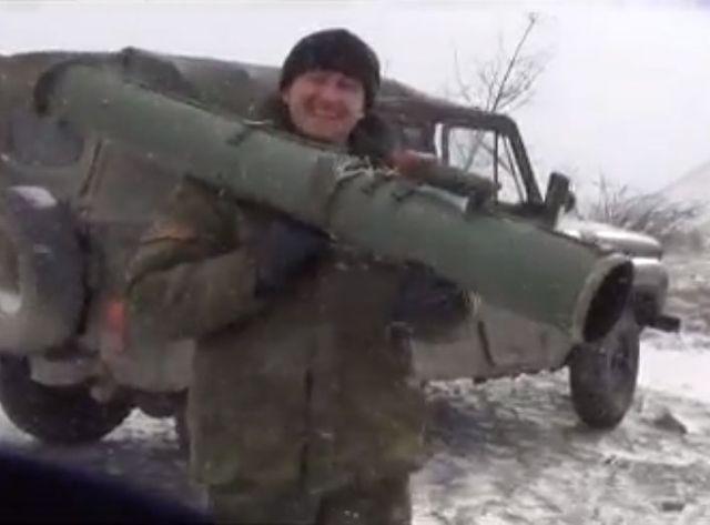 horlivka avec les séparatistes