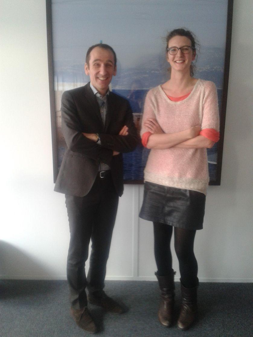 Aude Seigne et jean Mattern