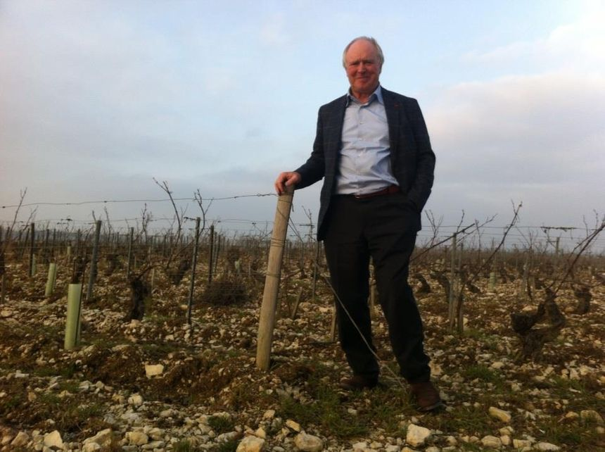 Jean-Marc Brocard, vigneron à Préhy (Yonne).