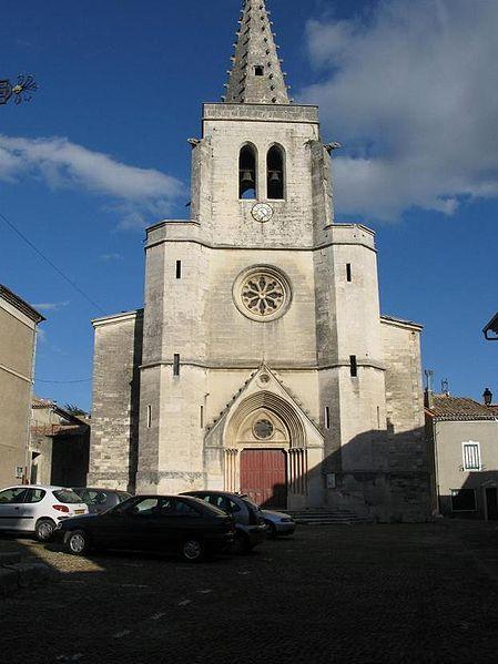 Village de Saint-Marcel d'Ardèche (Ardèche)