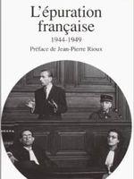 L'épuration française : 1944-1949