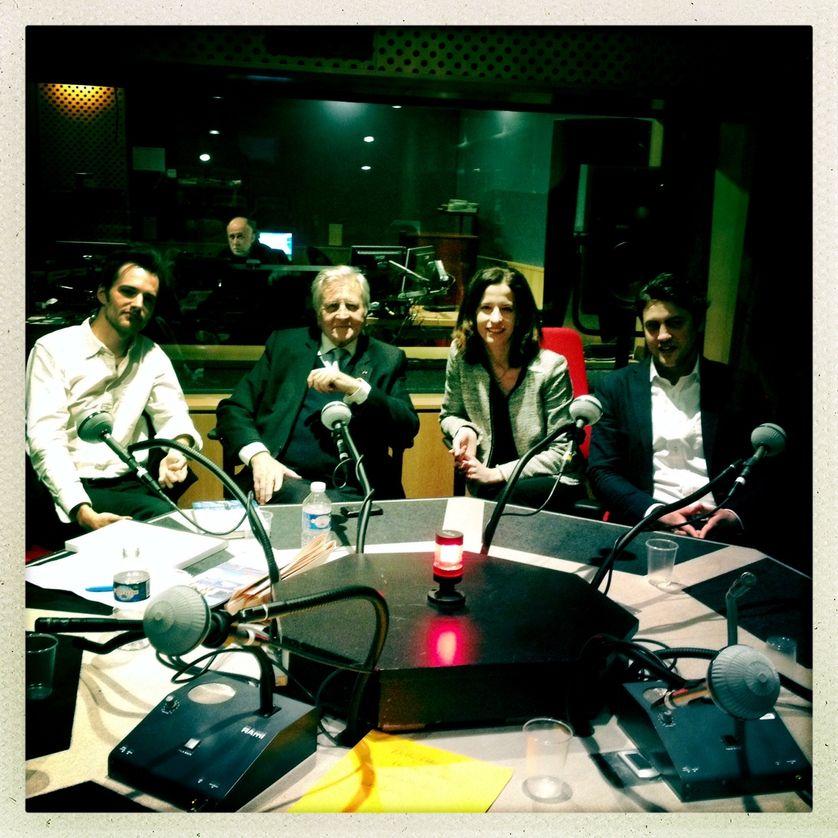 Pierre Pénet, Jean-Claude Trichet, Cornelia Woll, Frédéric Coste