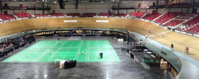 Le Vélodrome de Saint-Quentin-en-Yvelines a été construit pour les JO de 2012
