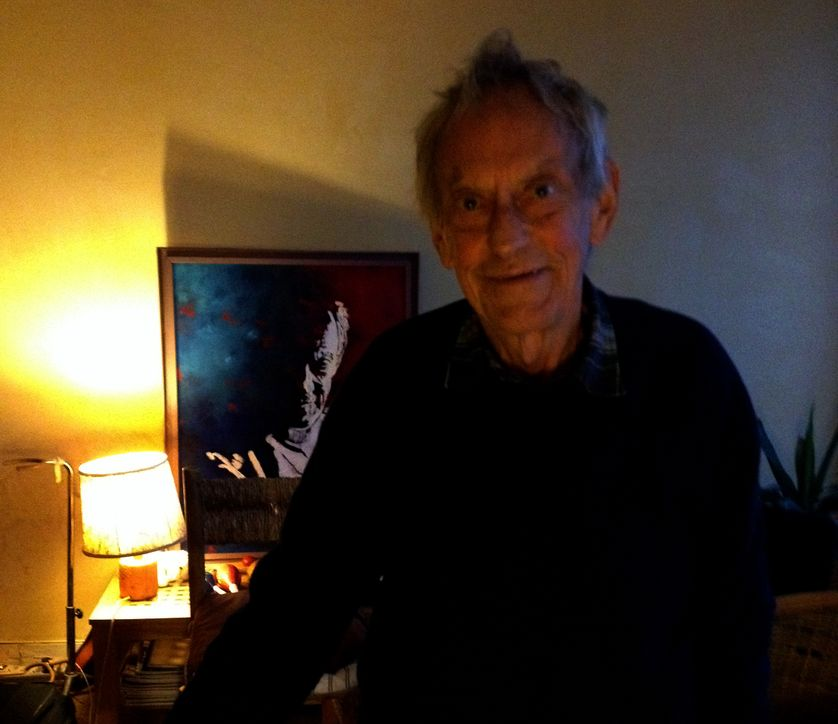 Graeme Allwright à son domicile