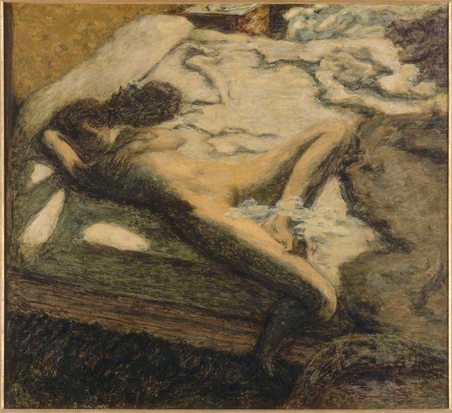 Femme assoupie sur un lit, dit aussi L'Indolente, 1899