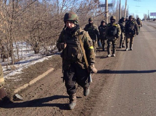 L'armée ukrainienne se retire de Debaltseve