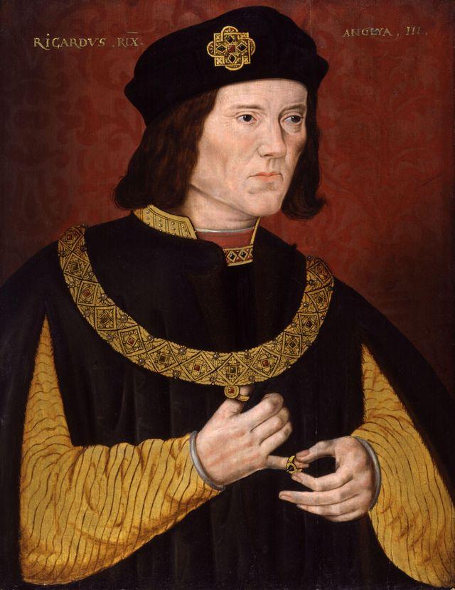 Le roi Richard III d'Angleterre - fin XVIème siècle