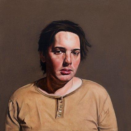Thomas, (60x60), huile sur toile, 2008