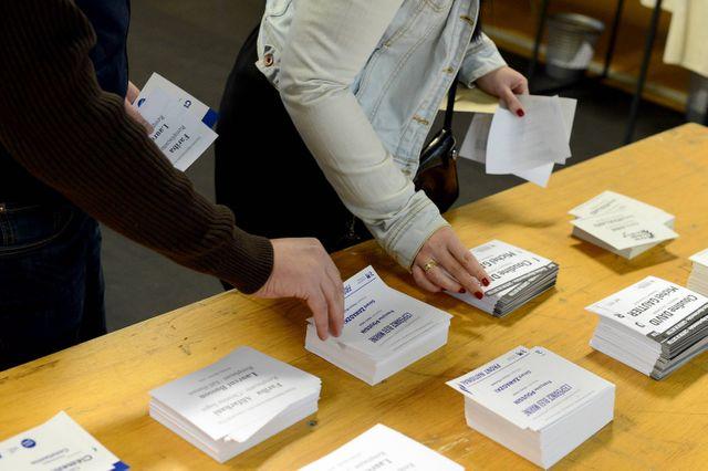 Elections départementales : plus de monde que prévu.