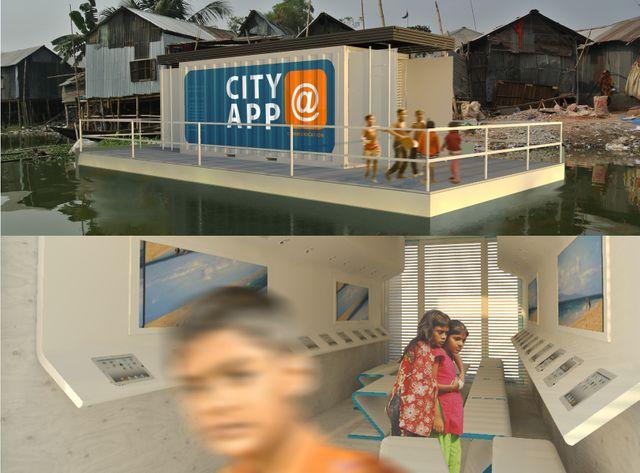 Le projet d'école flottante pour Dacca