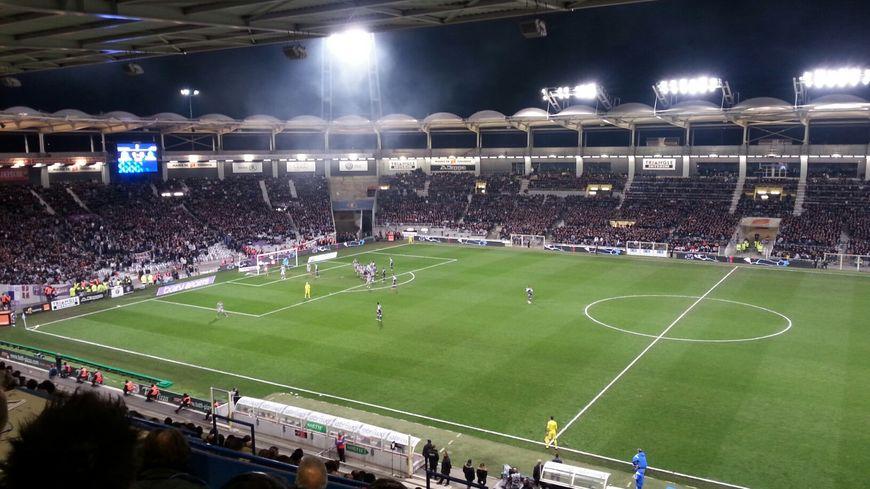 TFC-OM au Stadium de Toulouse