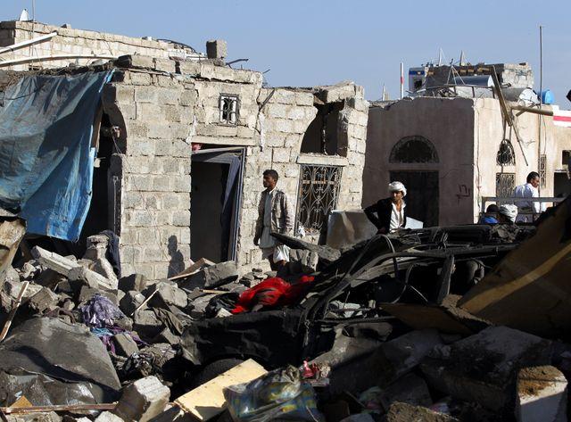 L'Arabie saoudite bombarde le Yémen