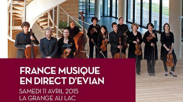 France Musique en direct d'Evian pour les 30 ans de l'Orchestre des Pays de Savoie