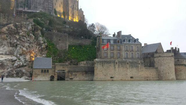 Quand la mer monte - France Inter au Mont Saint-Michel