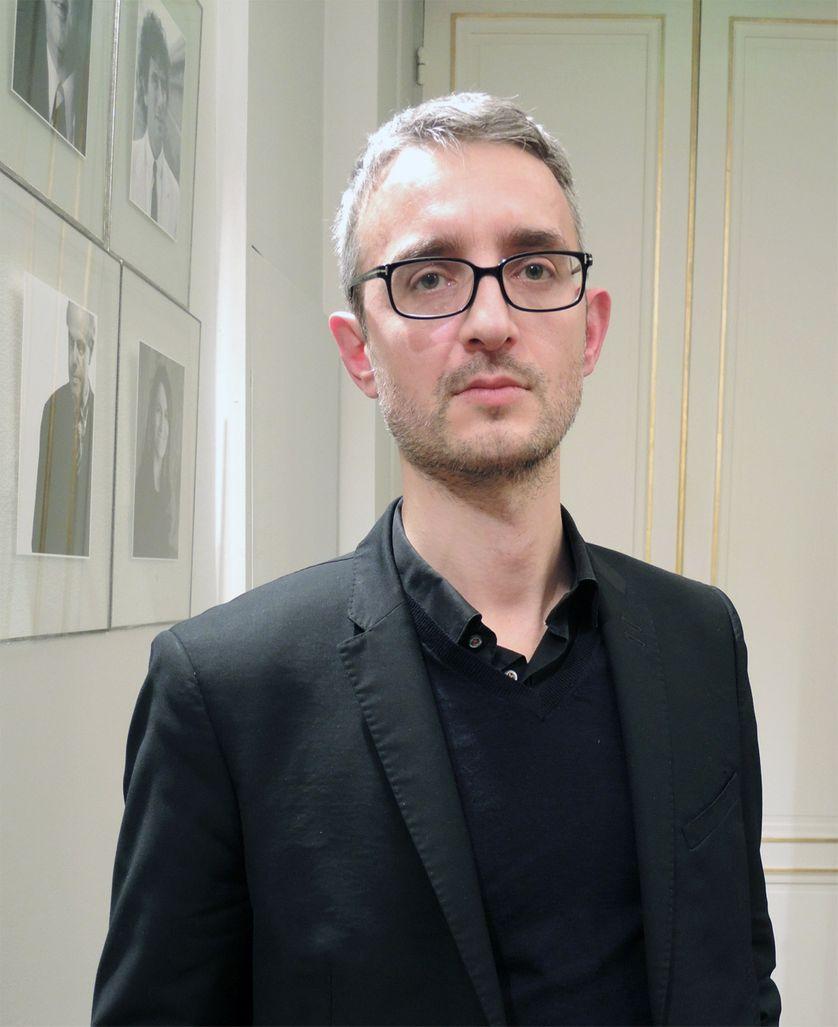 Claude Farge, le directeur des éditions, du transmédia et de la bibliothèque à Universcience, le 5 mars 2015