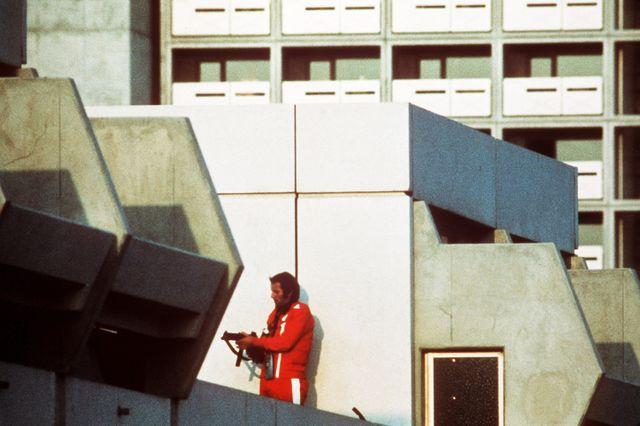 Prise d'otages de septembre 1972, à Munich, lors des Jeux Olympiques.