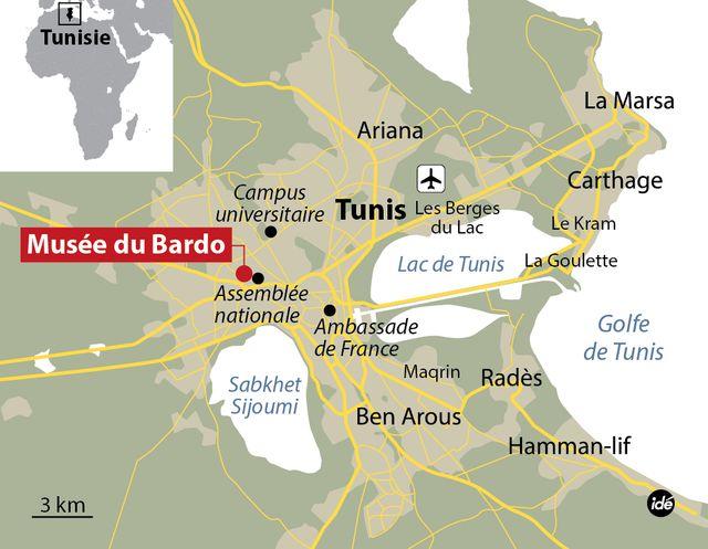 Le musée du Bardo à Tunis.