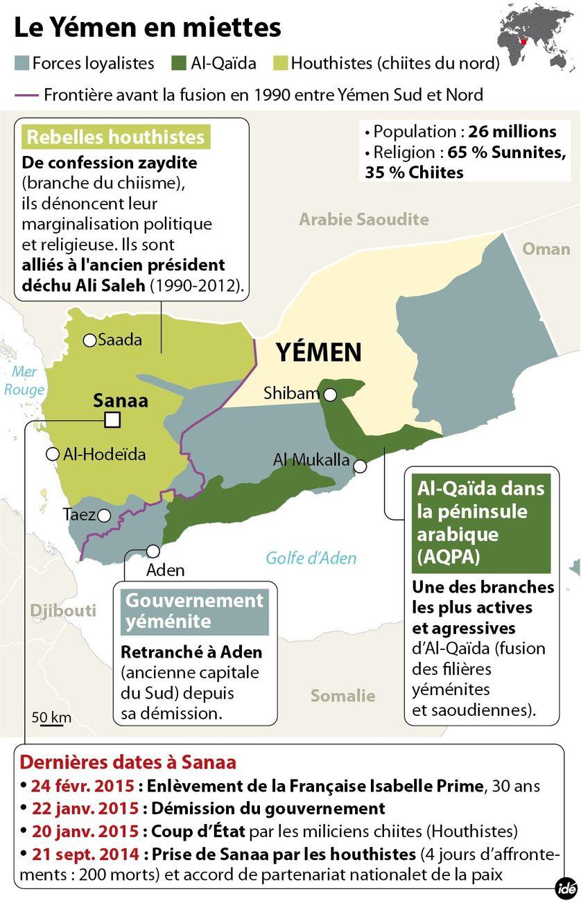 Le Yémen en miettes